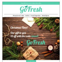 [GoFresh] GoFresh: Christmas Treats!