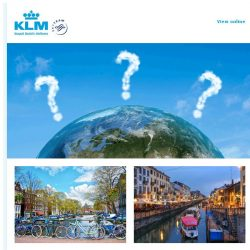 [KLM] The world is full of surprises! Did you know that …?