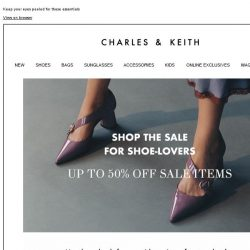 [Charles & Keith] Are You Shopping The 12.12 Sale Yet?