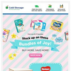 [Cold Storage] 🎉 Save More with these Bundles + FREE Gift! 🎉