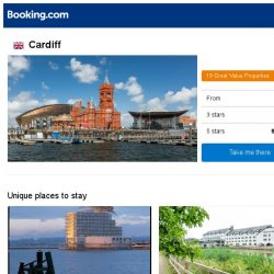 [Booking.com] Deals in Cardiff from S$ 59