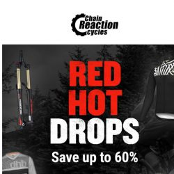 [Chain Reaction Cycles] Red + Hot = Up to 60% Off 🔥