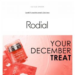 [RODIAL] Drop Everything: 30% Off Dragon's Blood ❤️
