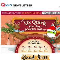 [Qoo10] 16 Perfect Gift Ideas For Your Loved Ones with FREE Delivery! Grab Takara Tomy, Wireless Desk Fan and more!