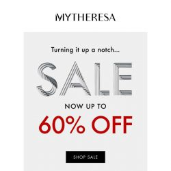 [mytheresa] Shop the best shoes at up to 60% off + limited time free shipping