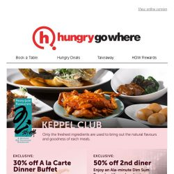 [HungryGoWhere] Peony Jade is on HungryGoWhere! Feast on dim sum or dinner buffet with discounts up to 50% now!