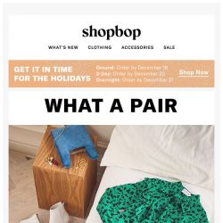 [Shopbop] Bring on the prints this winter