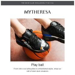 [mytheresa] 👟Shoe Club exclusive: new-season sneakers + limited time free shipping