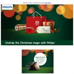 [PHILIPS] The shiniest gifts, the smartest prices