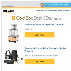 [Amazon] Save on Cuisinart 14 Cup Food Processor