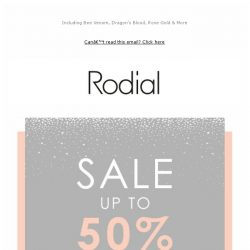 [RODIAL] Just Landed: Winter Sale ❄️ Up To 50% Off