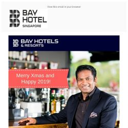 [Bay Hotel] Festive Greetings