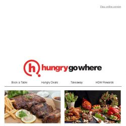 [HungryGoWhere] Usher in 2019 with New Year treats like 1-for-1 festive lunch & dinner buffet from $68, 50% off 2nd diner for festive BBQ buffet, & more