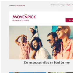 [Mövenpick Hotels & Resorts] Destinations de rêve pour 2019