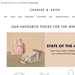 [Charles & Keith] Treat Yourself To These Show-Stoppers