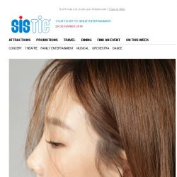 [SISTIC] Limited Tickets Left to Catch 's… TAEYEON CONCERT in SINGAPORE!