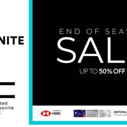Samsonite: End of Season Sale with Up to 50% OFF Selected Products In Stores & Online