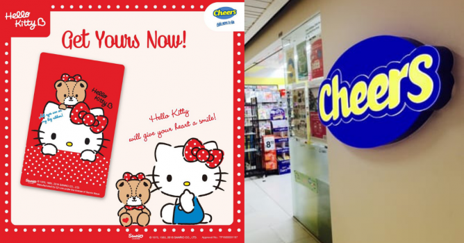 EZ-Link: NEW Hello Kitty EZ-Link Card Available at Selected Cheers Outlets!  From 11 Dec 2018 - 👑BQ.sg BargainQueen