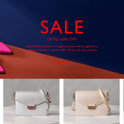 PEDRO: Year-End Sale with Up to 60% OFF Shoes, Bags & Accessories Online!