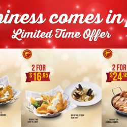 The Manhattan FISH MARKET: Flash These Coupons to Enjoy 1-for-1 Deals & Bundle Meals from only $9.90!