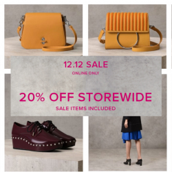PEDRO: 12.12 Online Sale with 20% OFF Storewide Including Sale Items!