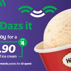 Häagen-Dazs: Enjoy a Single Scoop Ice Cream for Just $1.90 (U.P. $5.90) when You Pay Using GrabPay!