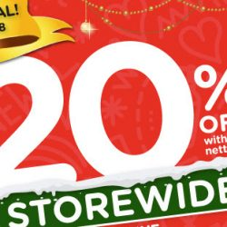Watsons: Enjoy 20% OFF Storewide with Min. $38 Spend + 6% Cash Rebate for POSB Everyday Card Holders