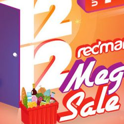 RedMart: 12.12 Mega Sale with Up to 75% OFF + Additional $25 OFF with Coupon Code!