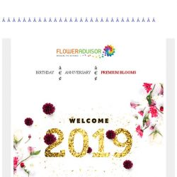 [Floweradvisor] Welcome 2019 🎉