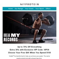 [MyProtein] Happy 2019 | Best Offer of the Season