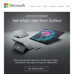 [Microsoft Store] Introducing the latest Surface Family
