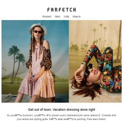 [Farfetch] This email contains vitamin D