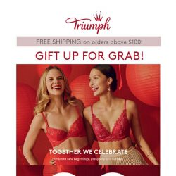 [Triumph] Gift Up For Grabs!
