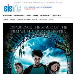 [SISTIC] HARRY POTTER and the Prisoner of Azkaban in CONCERT in SINGAPORE