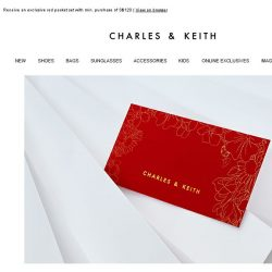 [Charles & Keith] Celebrate CNY In Style: A Gift From Us