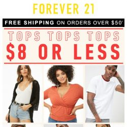 [FOREVER 21] $8 Tops?! WHAT.