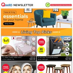 [Qoo10] 50% OFF SPRING SALES! Beautify Your Home & Yourself Now!