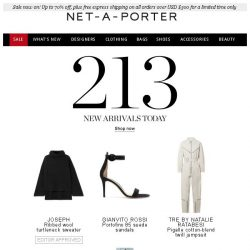 [NET-A-PORTER] Hundreds of new arrivals have just landed