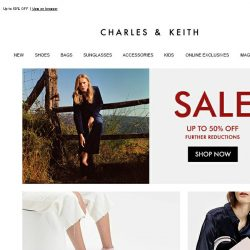 [Charles & Keith] End Of Season Sale – Enjoy Further Reductions
