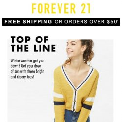 [FOREVER 21] NEED: Our Fave Tops