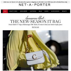 [NET-A-PORTER] New-season It bags