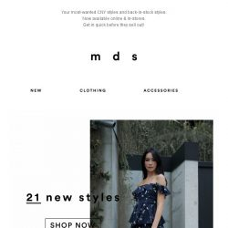 [MDS] Most-desired CNY Styles and Back-in-stock Favourites!