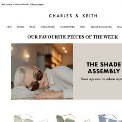[Charles & Keith] Wardrobe essentials worth checking out