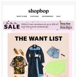 [Shopbop] 14 styles that'll instantly make your outfit