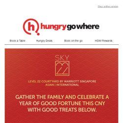 [HungryGoWhere] Sky22 wishes you a Year of Good Fortune with CNY delicacies - Prosperity Buffet, Harmony Semi-buffet, and more