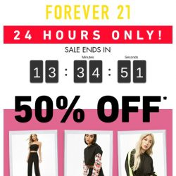 [FOREVER 21] ★ 50% OFF ★