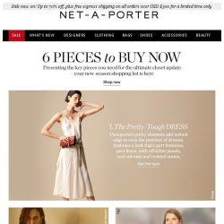 [NET-A-PORTER] 6 pieces to buy now
