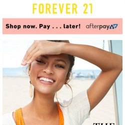 [FOREVER 21] (1) NEW MATCH