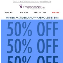 [FragranceNet] See what's 50% OFF!