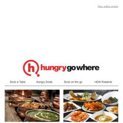 [HungryGoWhere] Relish on these unmissable red hot deals -  50% off second diner/mains, 19% off total bill, and more